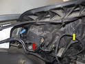 If replacing left side bulbs, begin by removing the intake air housing.