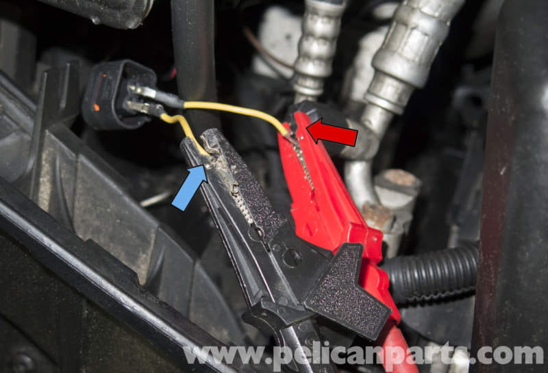 pic04 pelican technical article bmw x3 washer pump testing and replacing 220 Wiring Diagram at sewacar.co