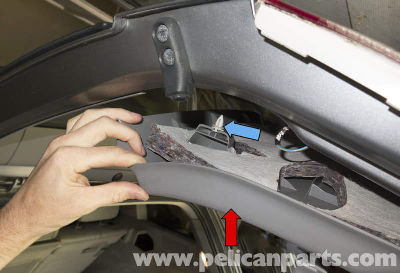 Pelican Technical Article Bmw X3 Tail Gate Trim Panels Replacement