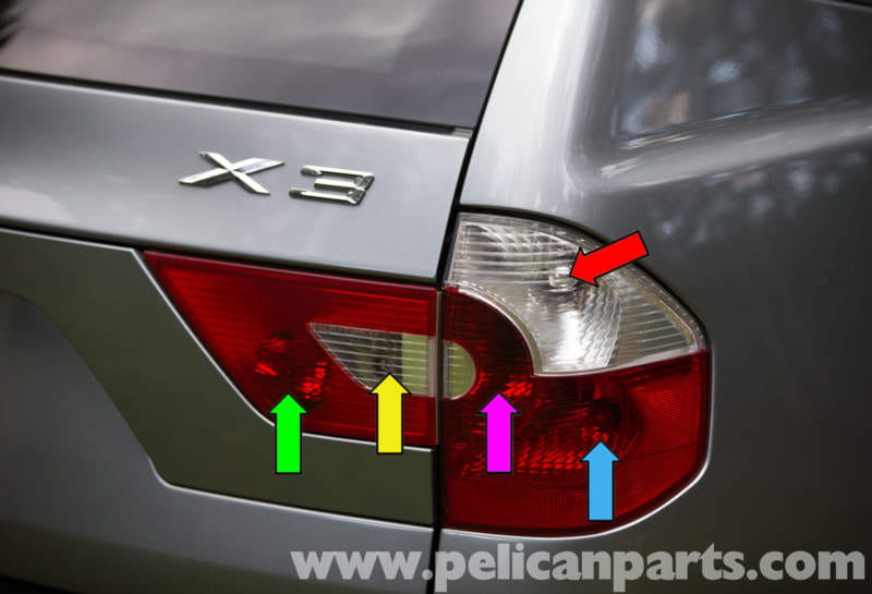 Pelican Technical Article Bmw X3 Tail Light Early
