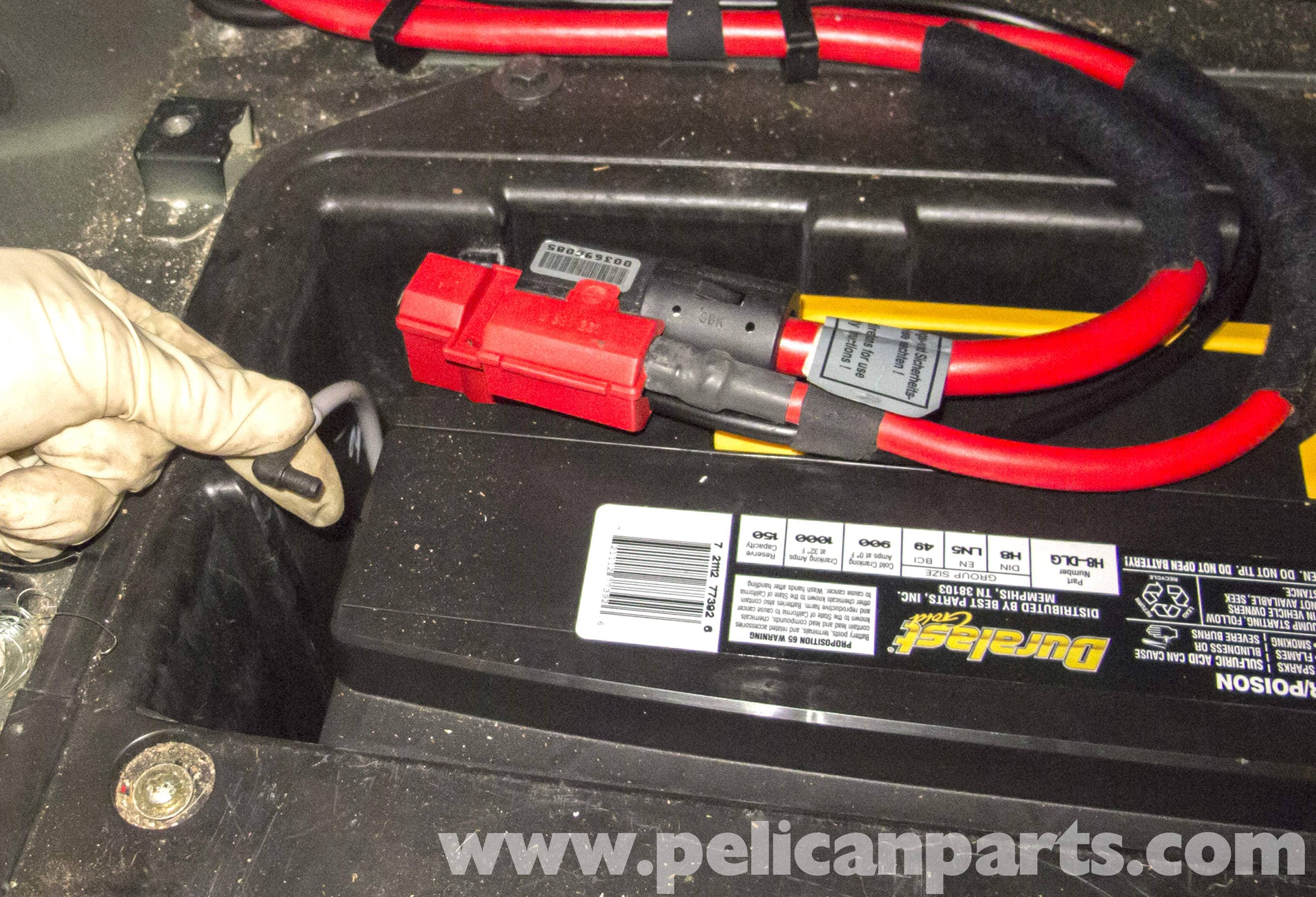BMW X5 Battery Replacement and Connection Notes E53 2000  2006