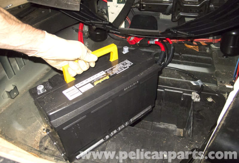 bmw x5 battery replacement and connection notes e53 2000 2006 pelican p. Black Bedroom Furniture Sets. Home Design Ideas