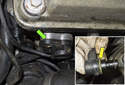 Install the camshaft sensor in the reverse order of removing.