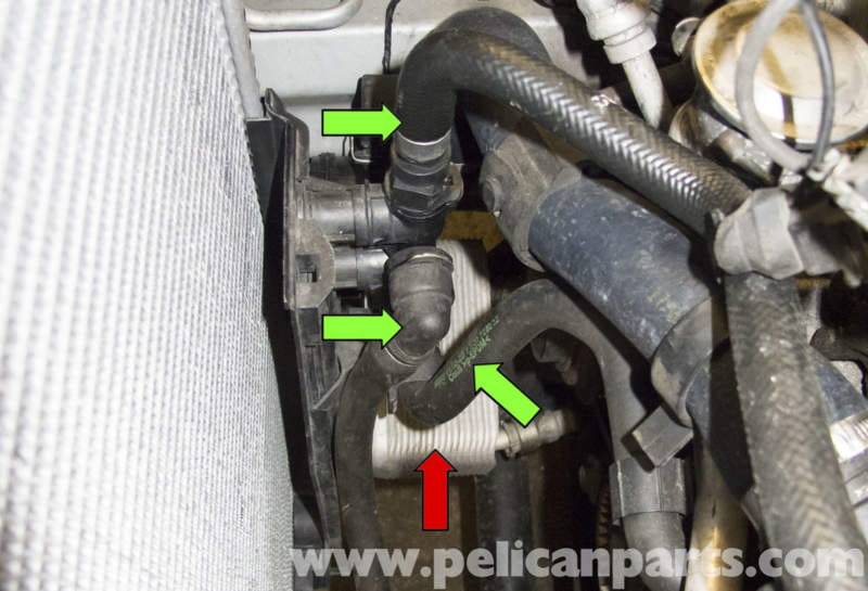 BMW X5 Transmission Cooler and Thermostat Replacement E53 2000