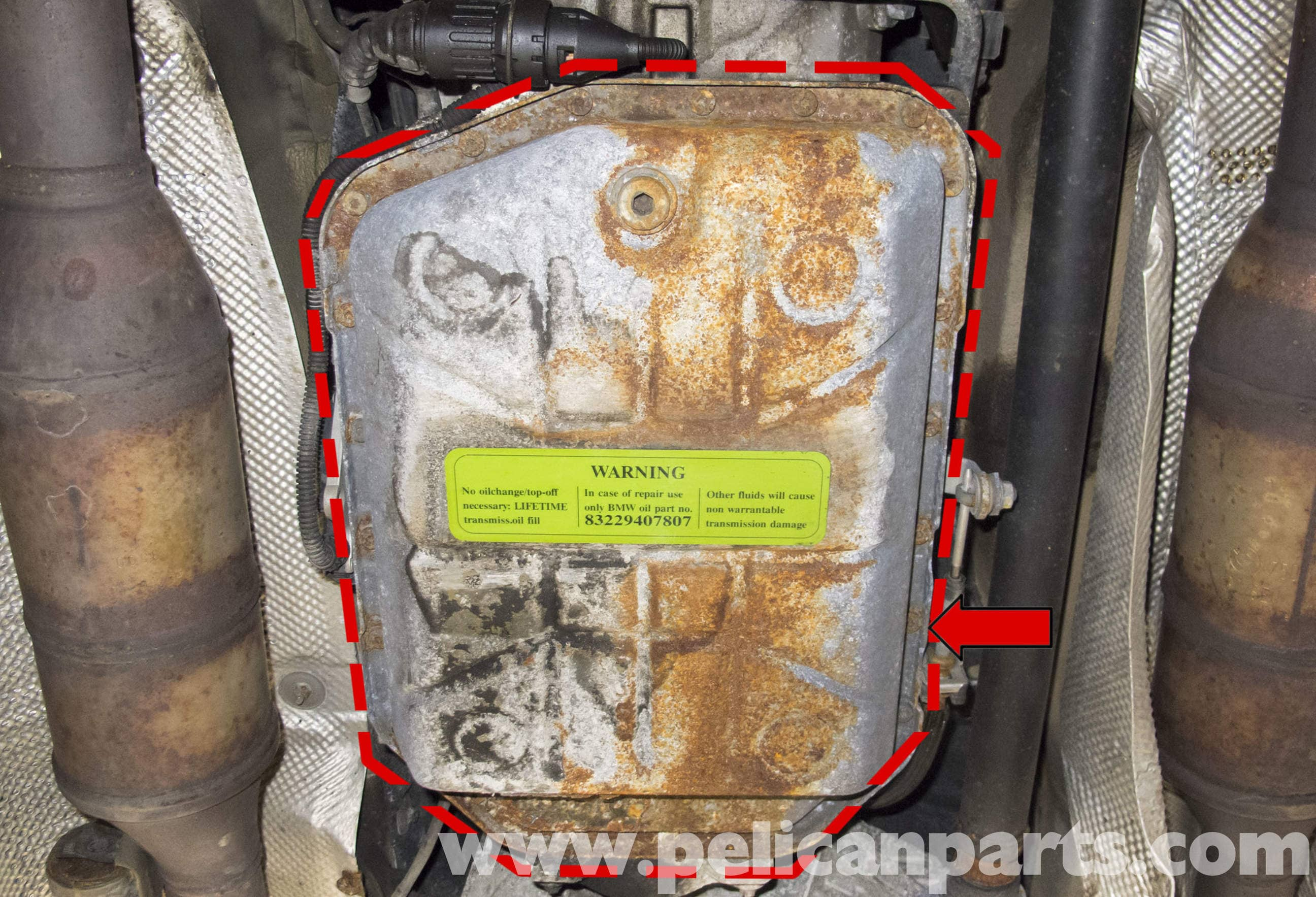 BMW X5 Automatic Transmission Fluid Replacement E53 2000  2006