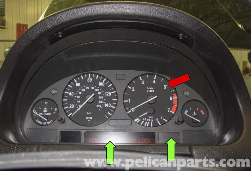 Bmw X5 Instrument Cluster Removal And Replacement E53