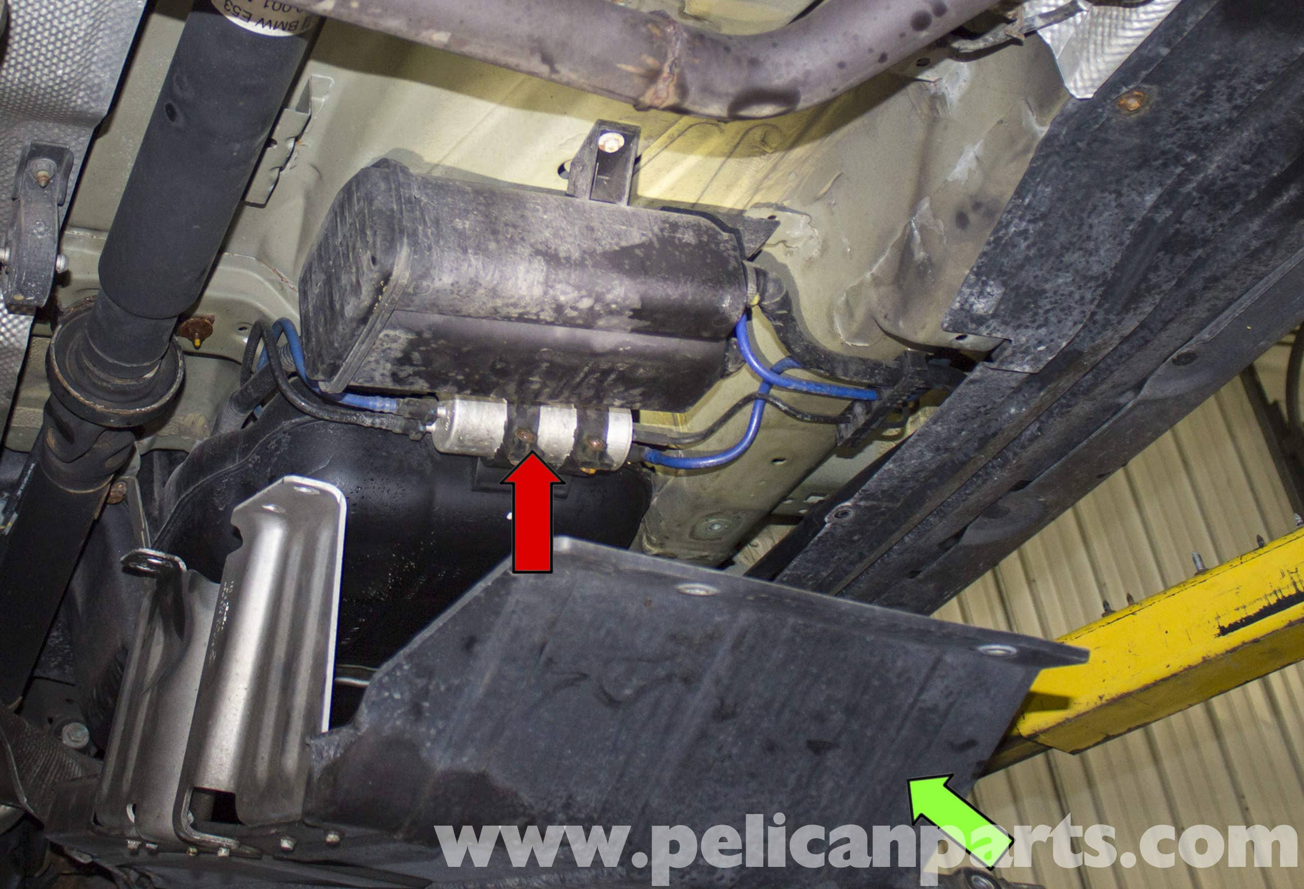 bmw x5 fuel filter bmw x5 fuel filter replacement (e53 2000 - 2006) | pelican ...