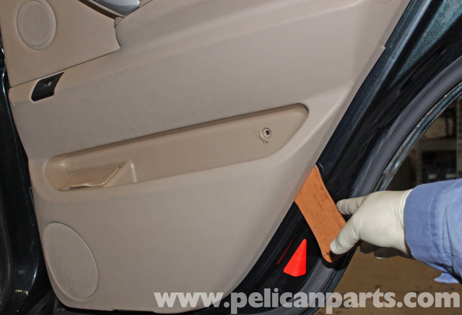 Bmw X5 Rear Door Panel Replacement E53 2000 2006 Pelican Parts Diy Maintenance Article