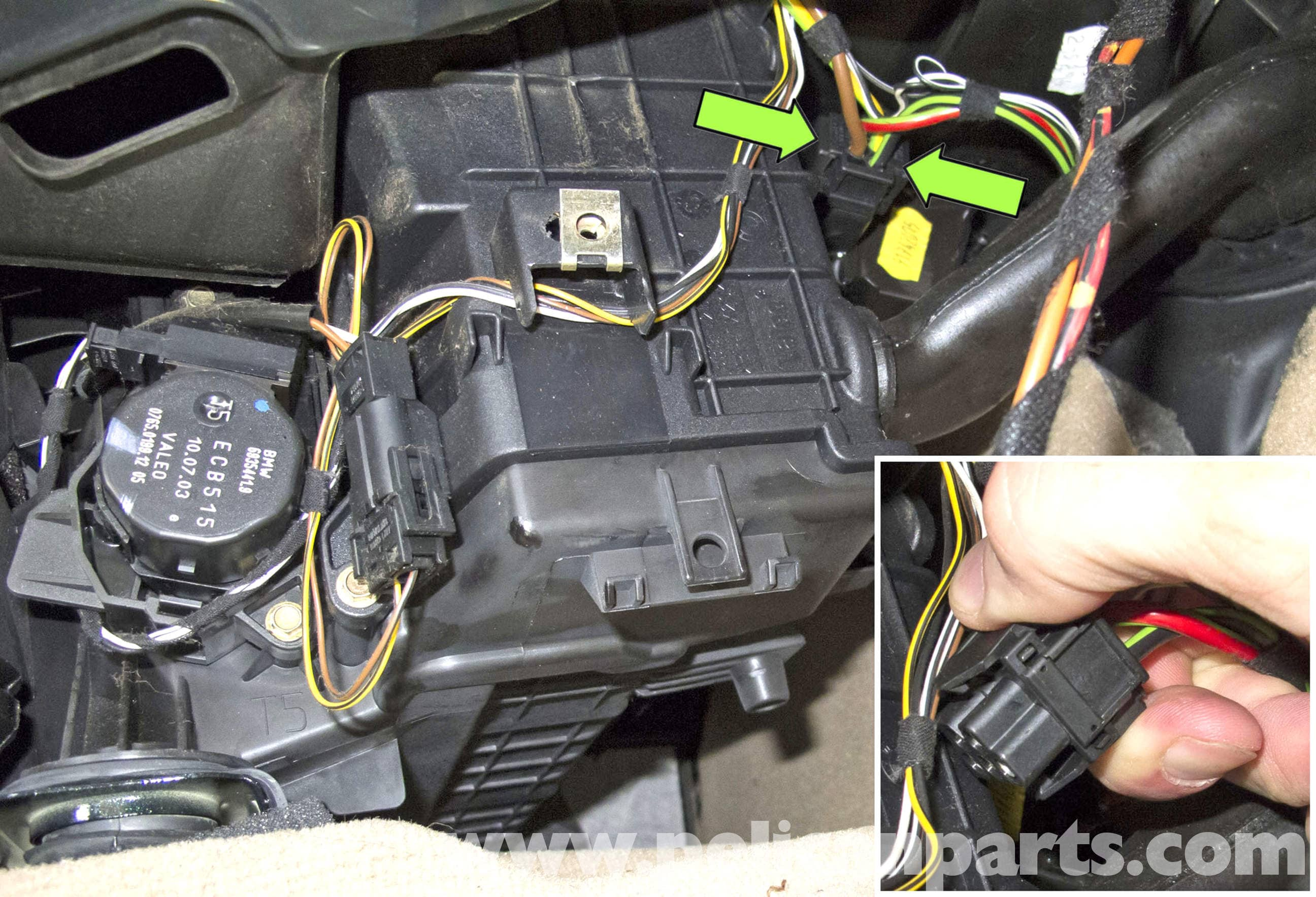 Bmw X5 Blower Motor Final Stage Replacement E53 2000