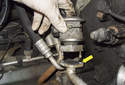 Secondary air pump check valve: You can now remove the check valve from the pipe.