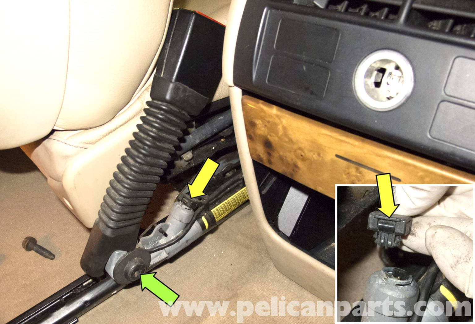 Bmw Seats Replacement : Bmw front seat belt buckle replacement e