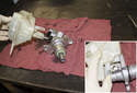 The next step only has to be performed if your new master cylinder did not come with a reservoir.