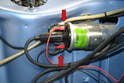 Depending on whether your vehicle has an old points and condenser distributer or a modern upgrade to pointless will determine how many wires are connected to the coil.