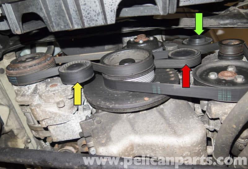 Bmw Z4 M S54 6 Cylinder Drive Belt Replacement 2003 2006 Pelican Parts Diy Maintenance Article