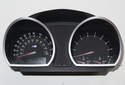 Slide the instrument cluster out of the dashboard toward the right side of the vehicle.