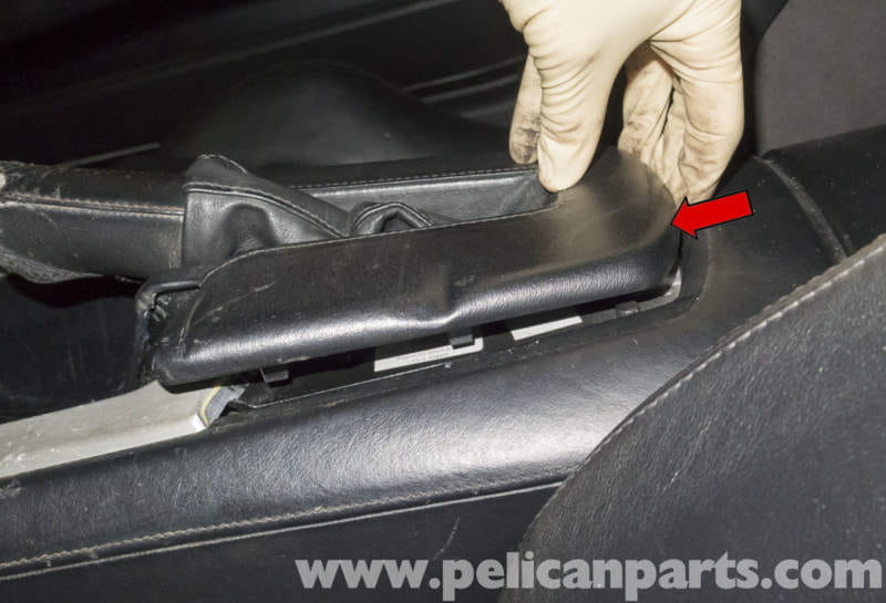 Bmw Z4 M Parking Brake Handle And Boot Replacement 2003