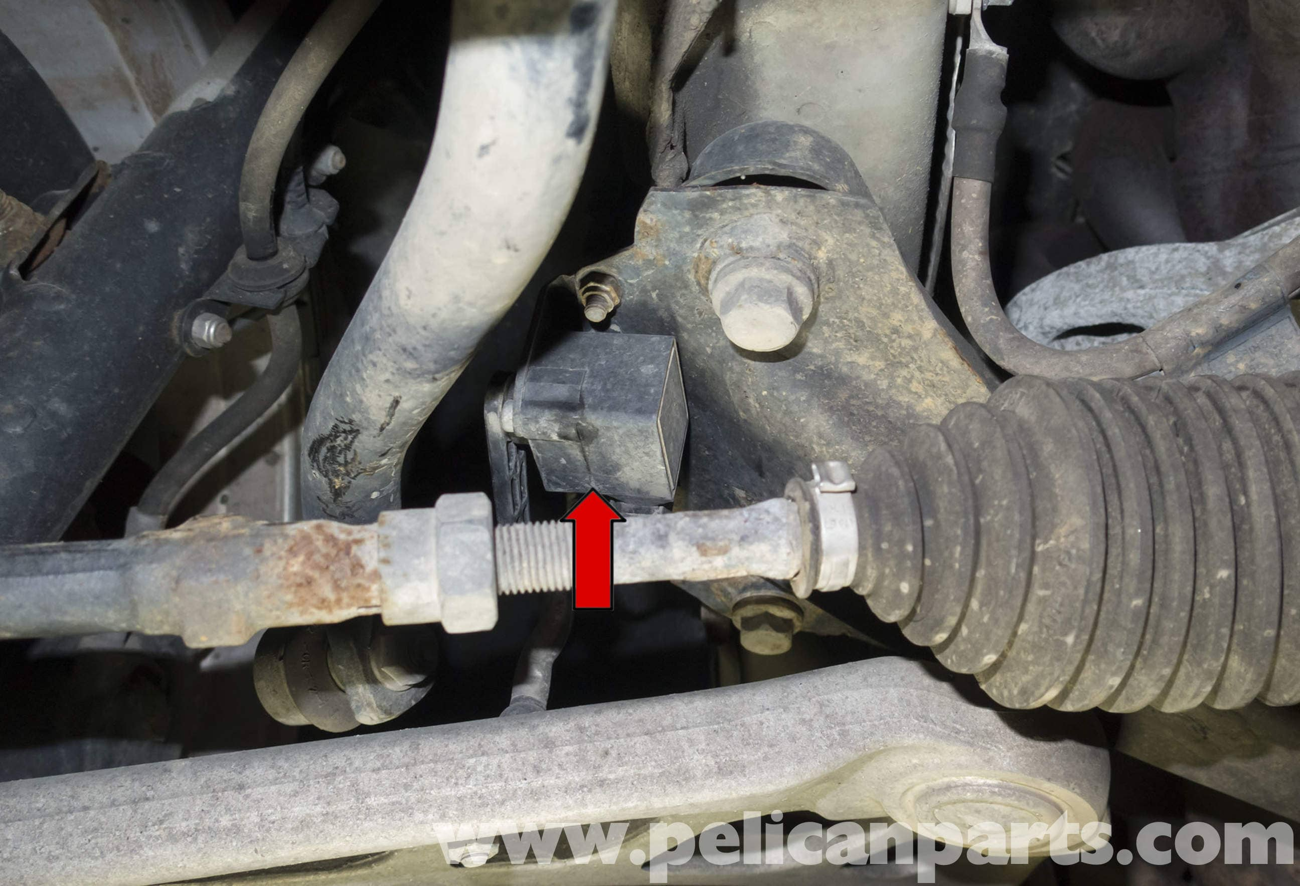 Bmw Z4 M Xenon Headlight Ride Height Sensor Testing And Replacement 2003 2006 Pelican Parts
