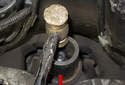 To install a new seal, slide it over the pinion shaft and press it in by hand.