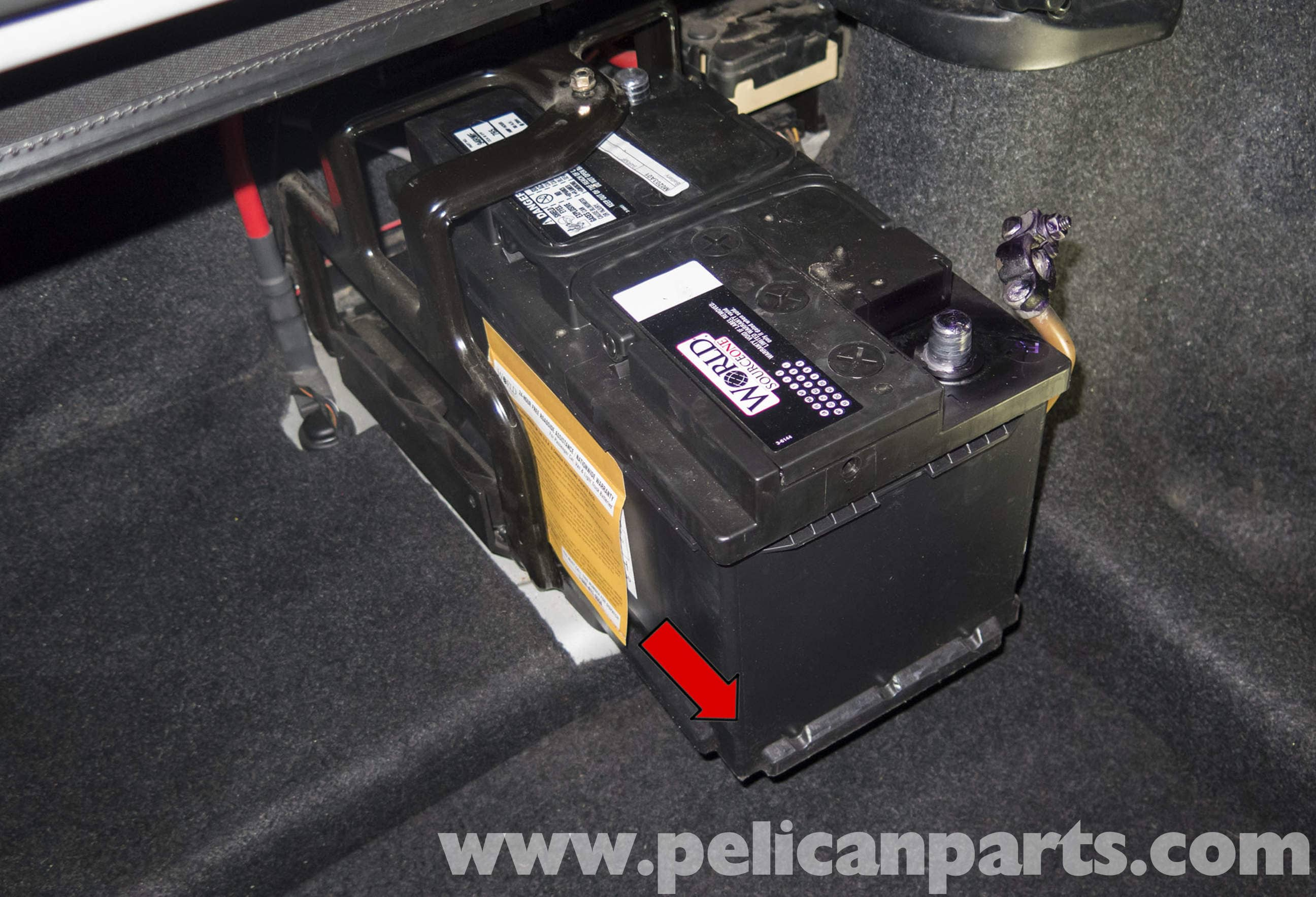Bmw Z4 M Battery Replacement And Connection Notes 2003