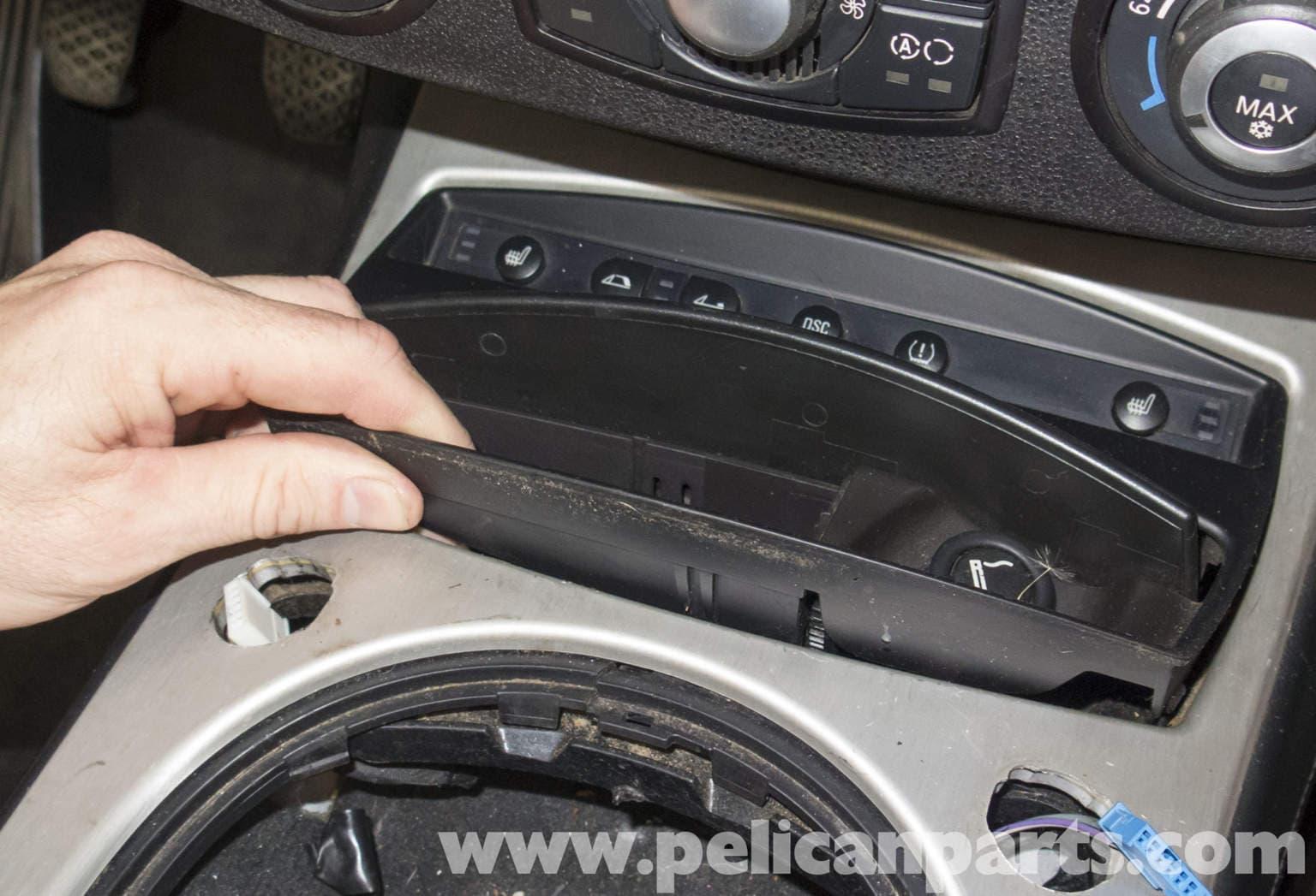 Bmw Z4m Center Console Replacement E85 2003 2008 Pelican Parts Diy Maintenance Article
