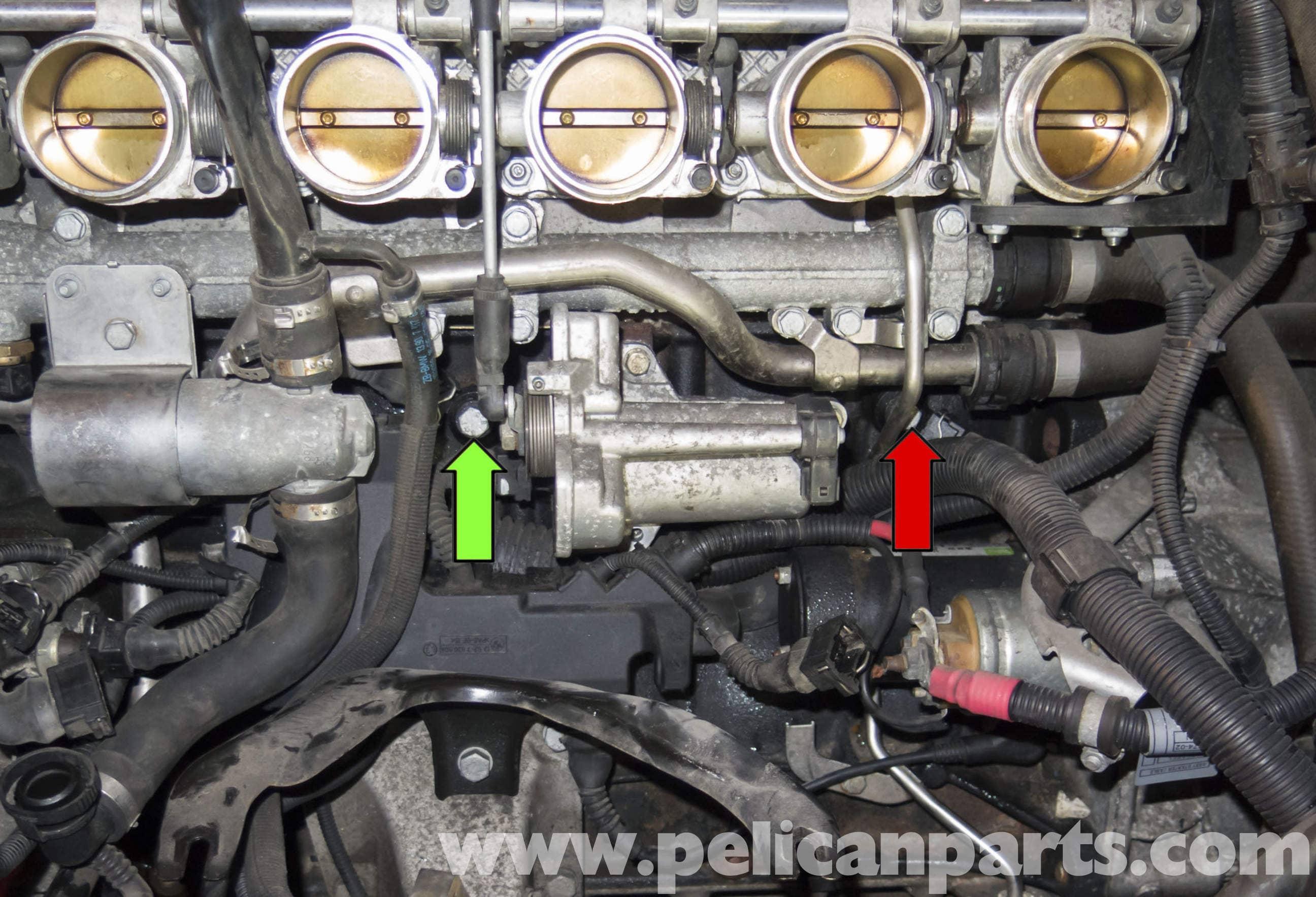 Bmw Z4 M Knock Sensor Testing And Replacement 2003 2006 Pelican Parts Diy Maintenance Article