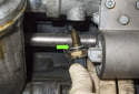Coolant sensor: Remove the sensor from the coolant pipe.