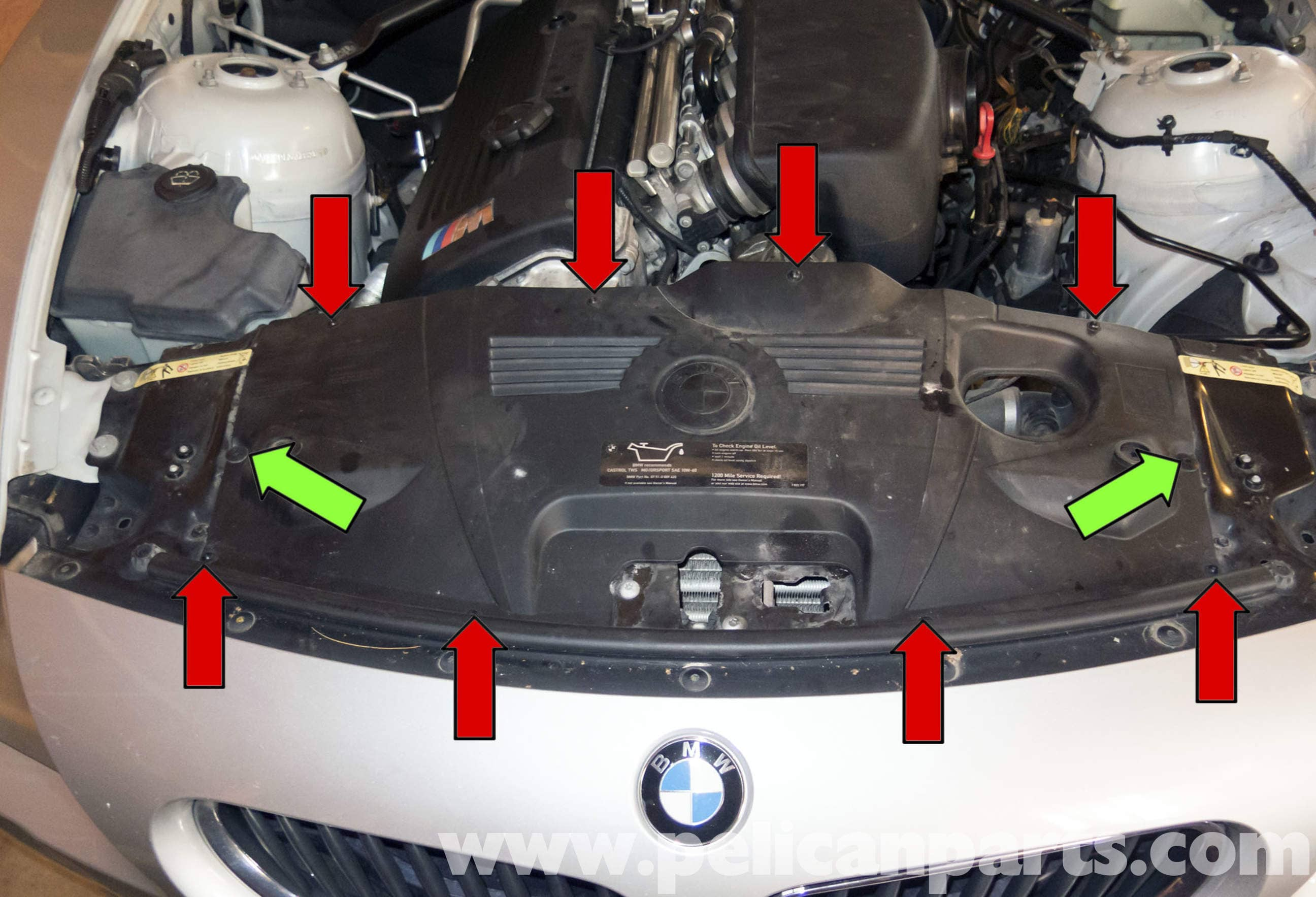 Bmw Z4 M Radiator Replacement 2003 2006 Pelican Parts
