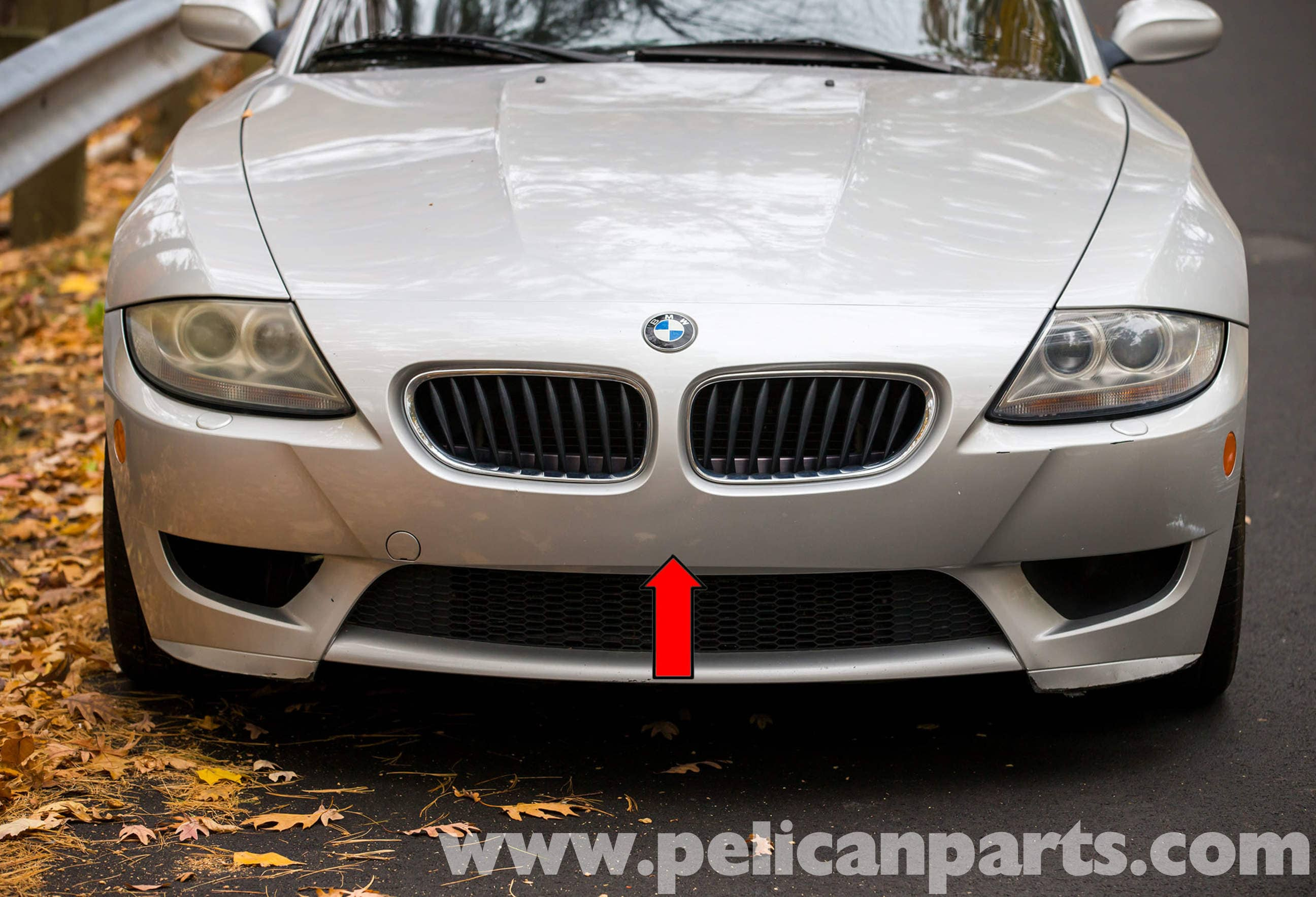 Bmw Z4 M Front Bumper Replacement 2003 2006 Pelican