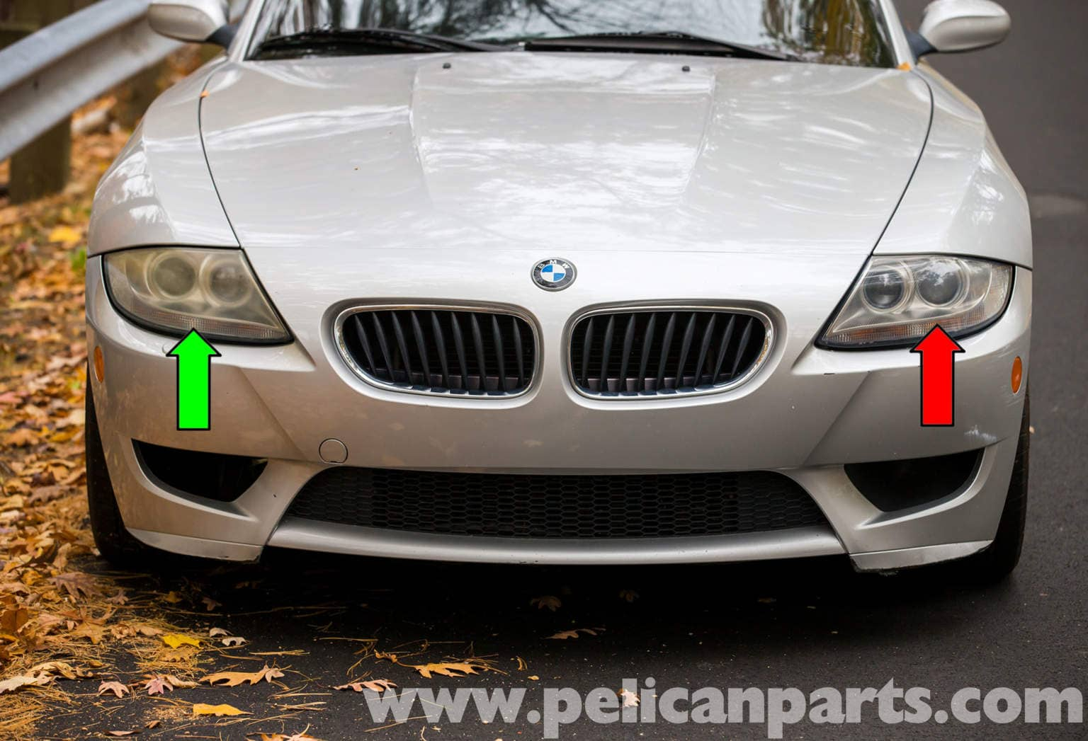 Bmw Z4 M Xenon Headlight Replacement 2003 2006 Pelican