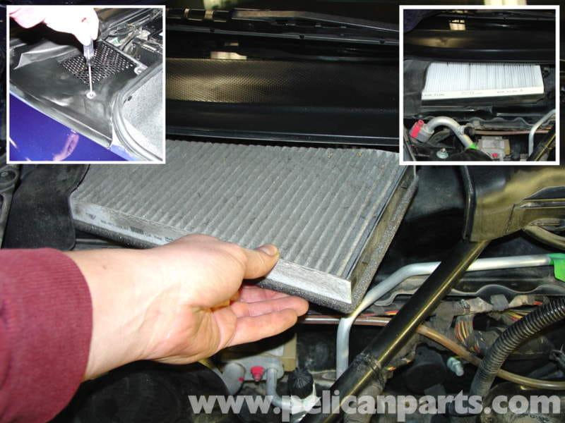 Porsche Boxster Air Filter Pollen Filter Replacement