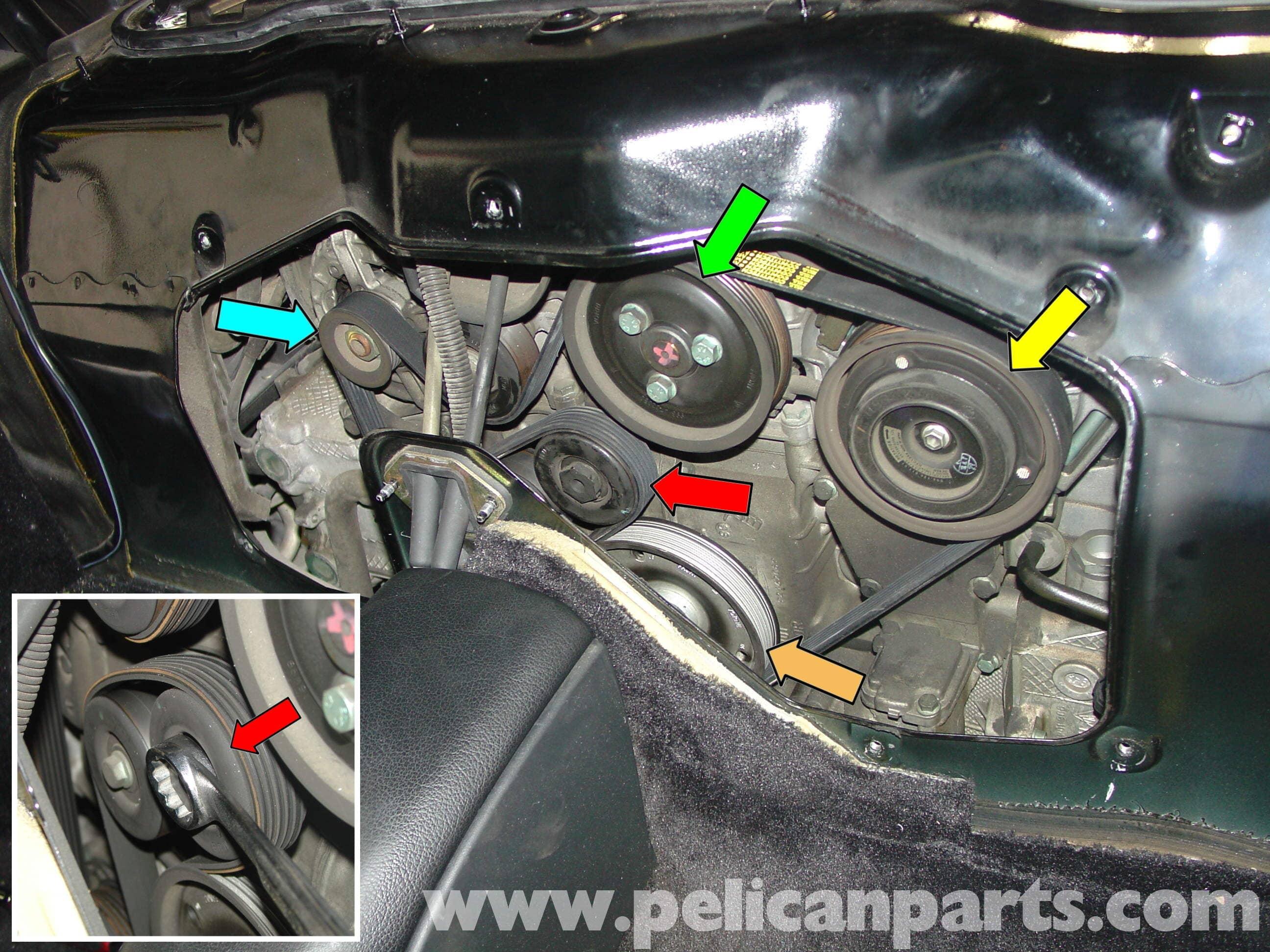 Porsche Boxster Drive Belt Replacement 986 987 1997