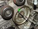 If you don't have the TDC tool, then a 5/16ÃÆ'¢Ã¢Ã''¬Ã' drill bit will work just as well for locking the engine at TDC.