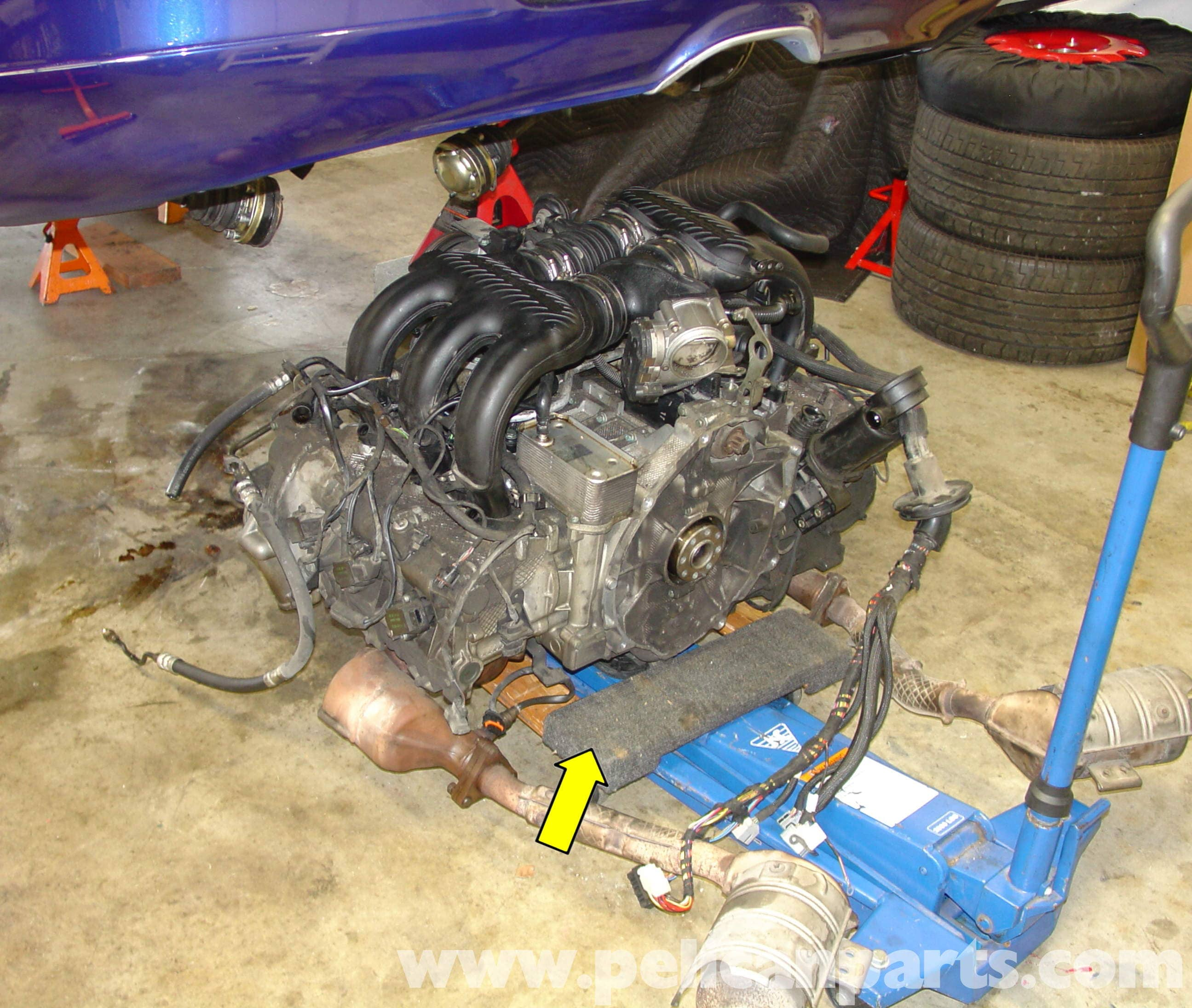 porsche boxster engine drop removal 986 987 1997 08 large image