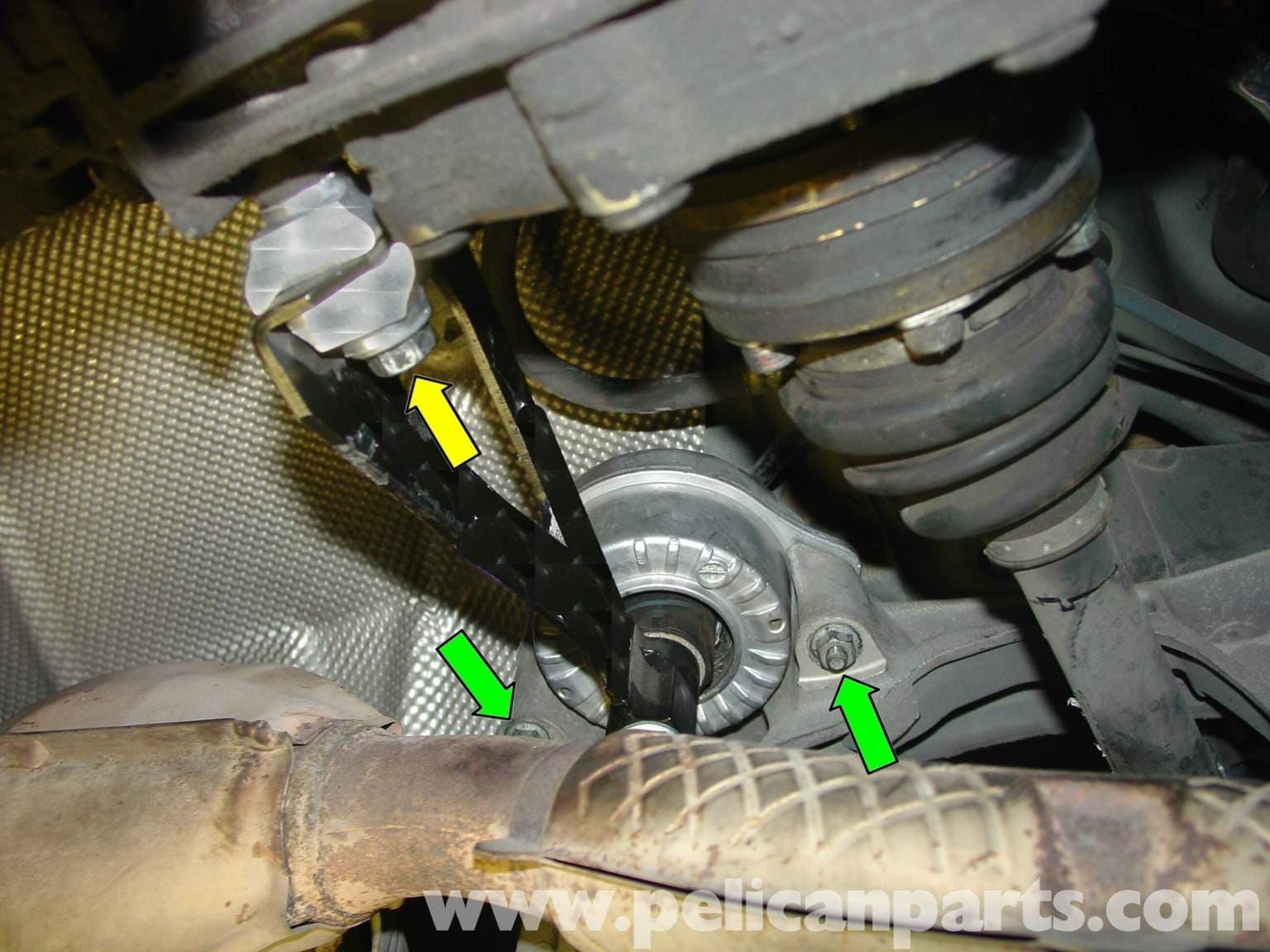 Porsche Boxster Transmission Mount Replacement 986 987