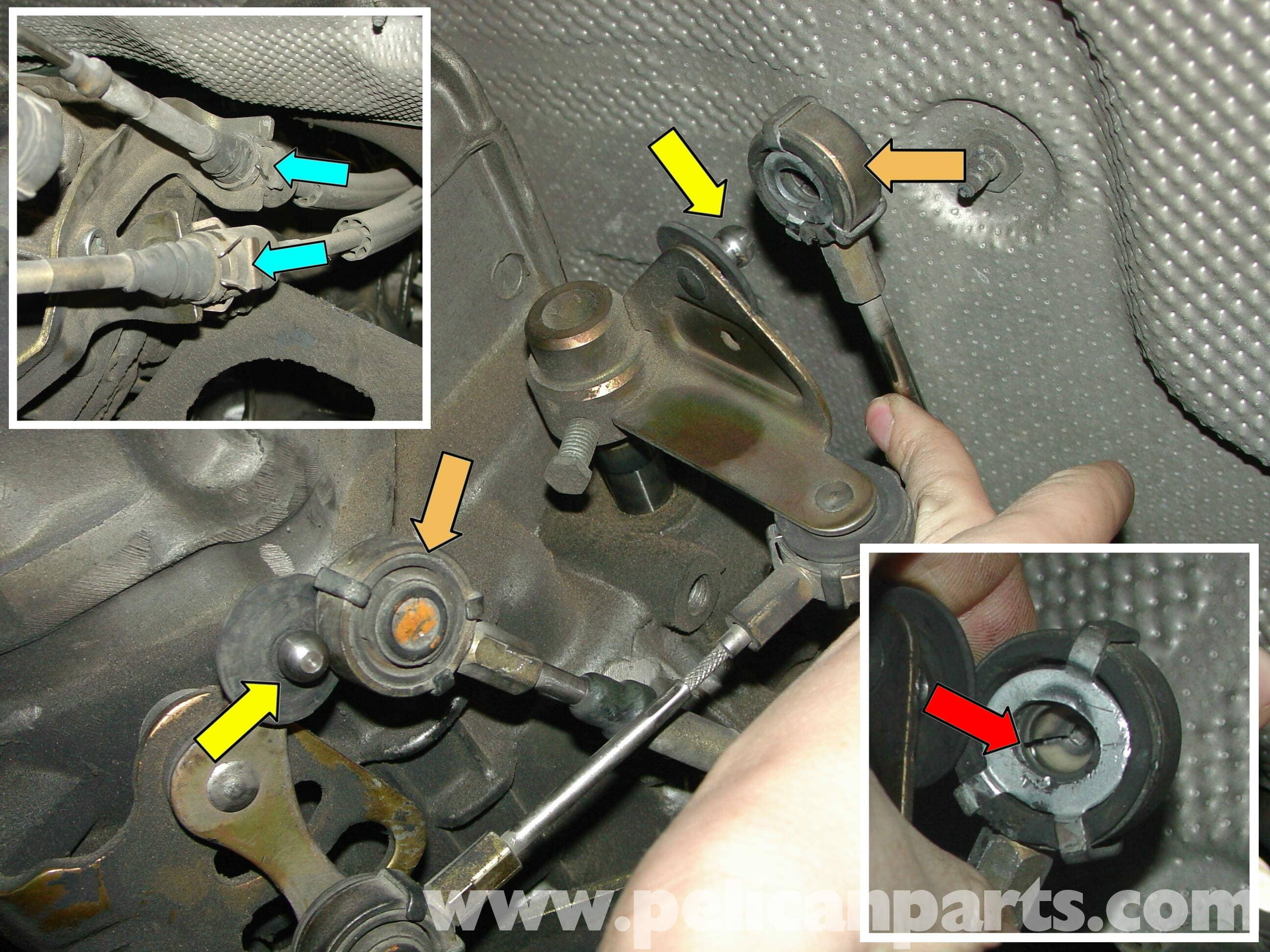 Porsche Boxster Transmission Removal 986 987 1997 08 Pelican Parts Technical Article