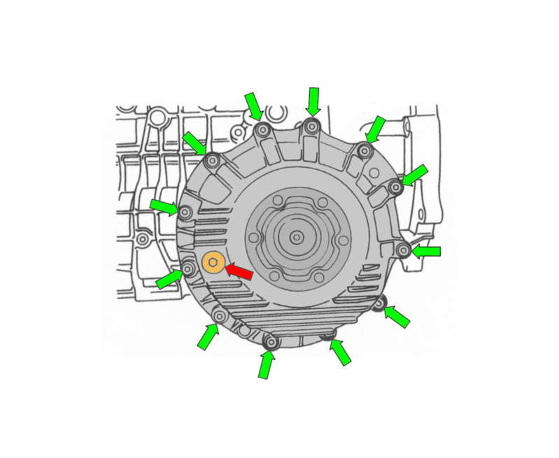 how to change transmission fluid on porsche cayenne