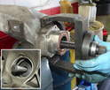 Here's part two of the process of pulling the bearing using the tool.