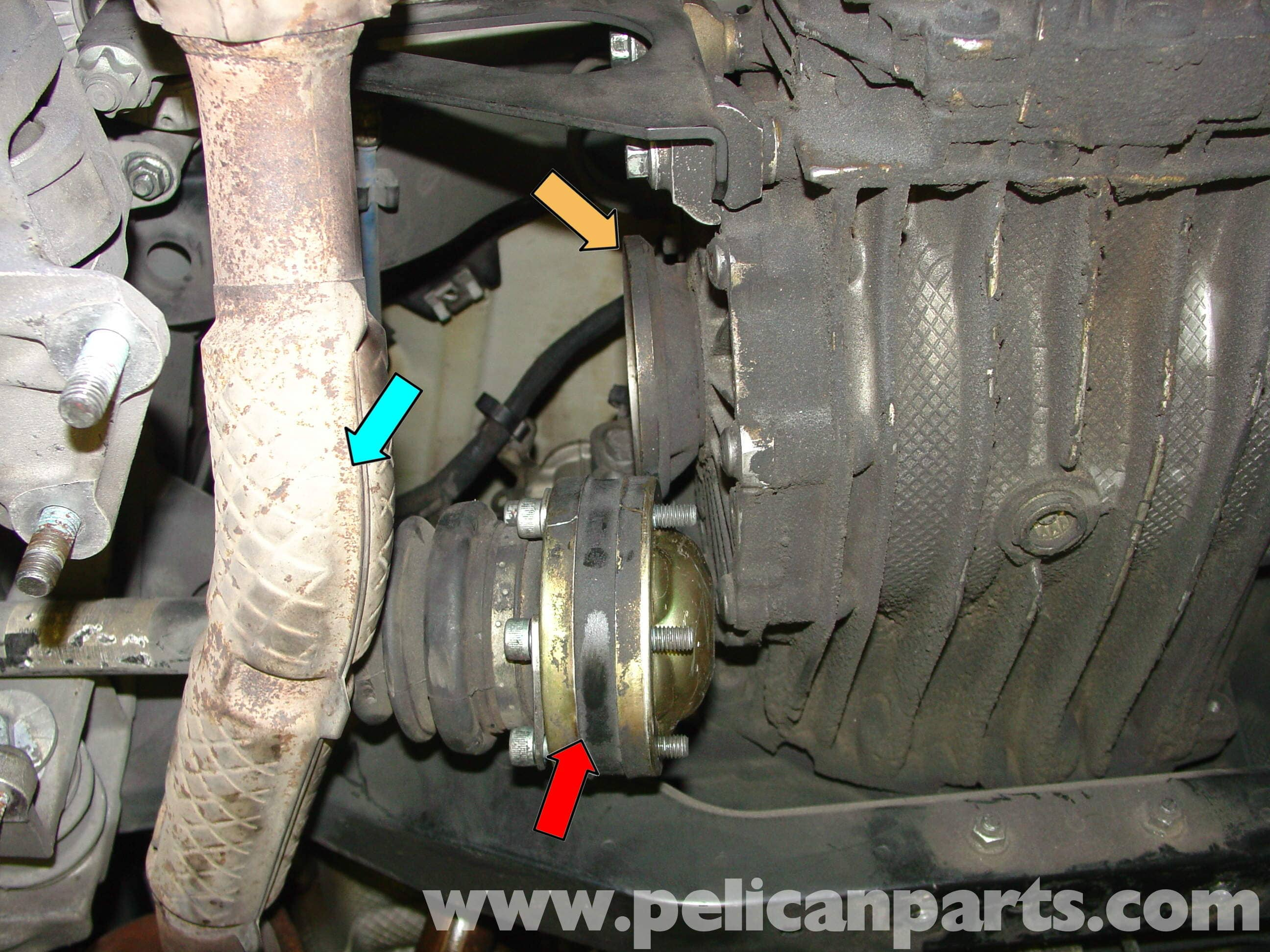 Porsche Boxster Cv Joints And Boot Axle Replacement