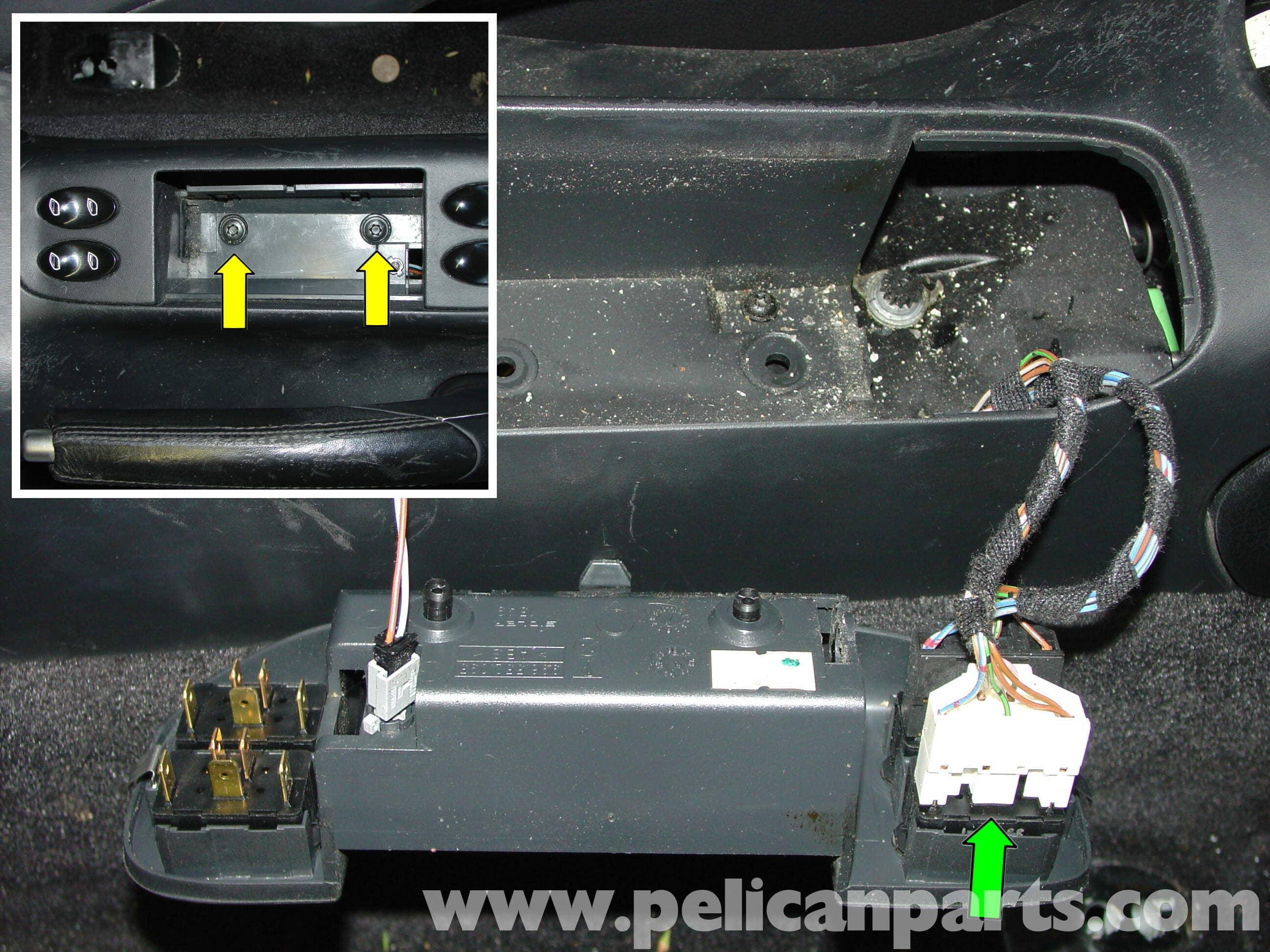 Porsche Boxster Window Regulator Replacement Window