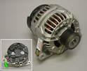 Shown here is a brand new rebuilt alternator.