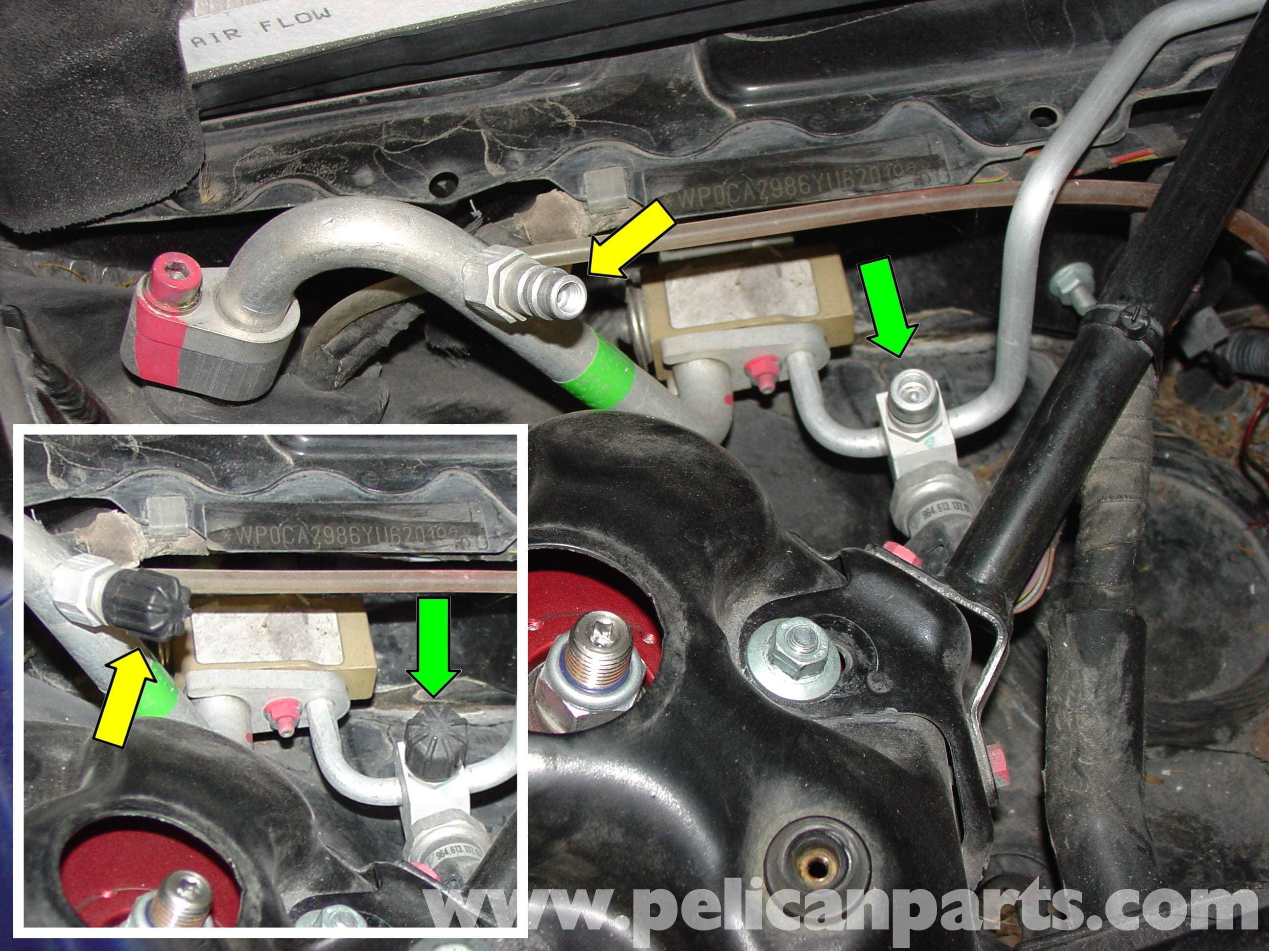 Porsche Boxster Air Conditioning Recharge 986 987