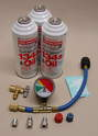 Shown here is a great starter AC kit from Interdynamics.