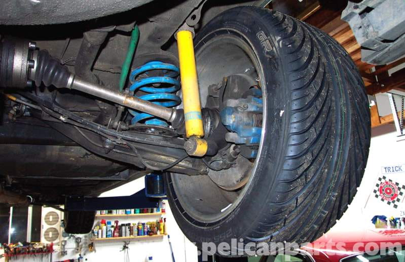 A set of lowering springs and decent shocks can make your E30 handle better than 90 percent of modern cars, look good, and not cost too much money