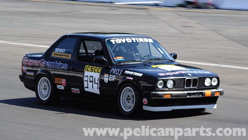 For Spec E30 or Pro E30(shown here) alignment is one of the most critical variables available to the racer