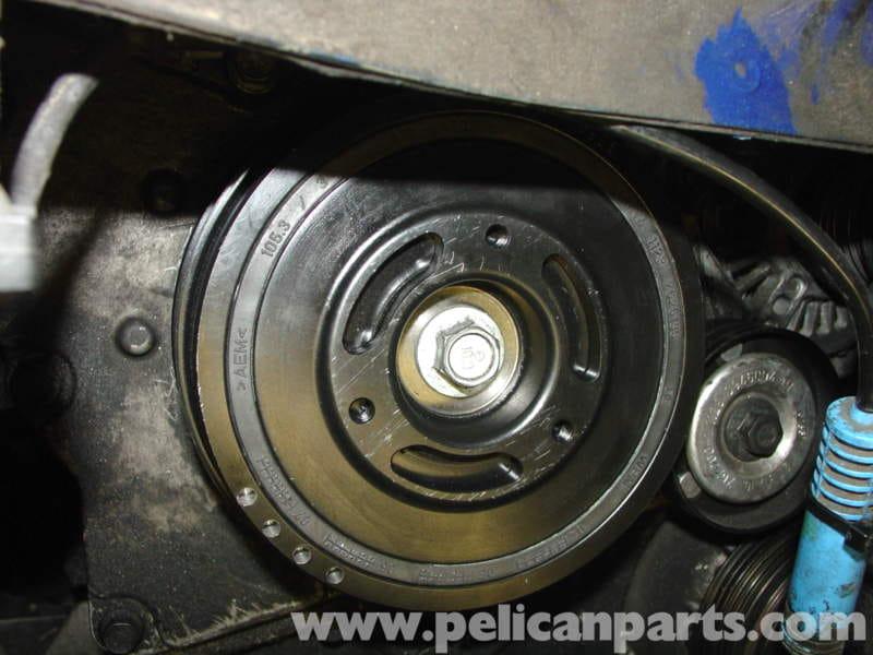 Mini Cooper All Wheel Drive >> MINI Cooper Crankshaft Pulley Replacement (R50/R52/R53