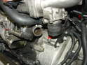 Now remove the lower plastic intake from the supercharger and the air bypass valve.