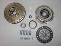 Shown here is a complete clutch kit including the dual mass flywheel for the MINI Cooper S.