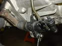 Unbolt and remove the clutch slave cylinder from the transmission.