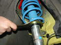 The PSS9 kit includes two specialized wrenches that allow you to set the ride height of the car.