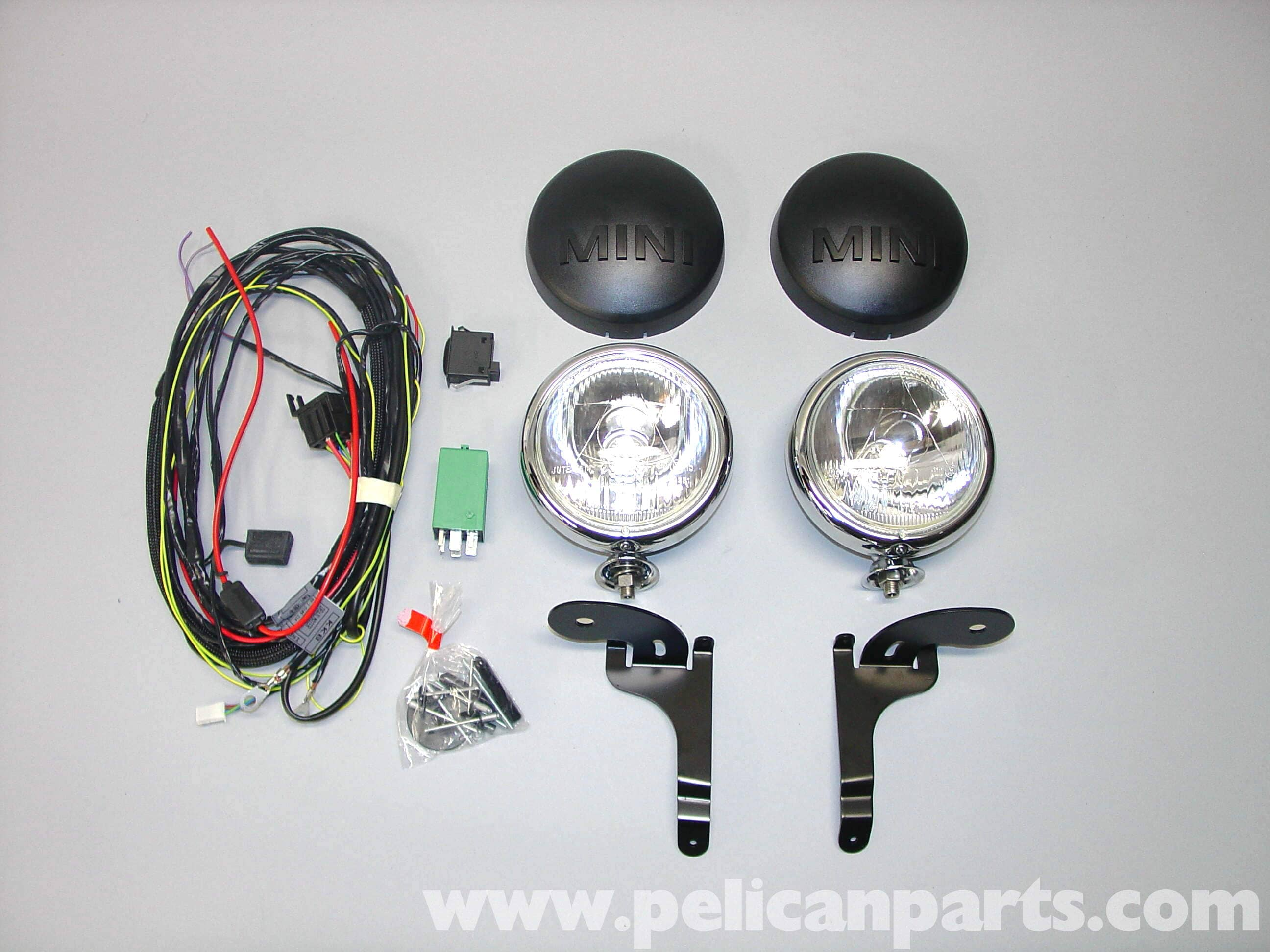 Mini Cooper Driving Light Installation  R50  R52  R53 2001